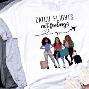 Catch Flights Squad Tee
